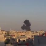 """فيديو: لحظة إسقاط طائرتين لنظام الأسد طائرة """"ميغ"""" في دير الزور ومروحية بريف دمشق على يد الجيش السوري الحر .."""