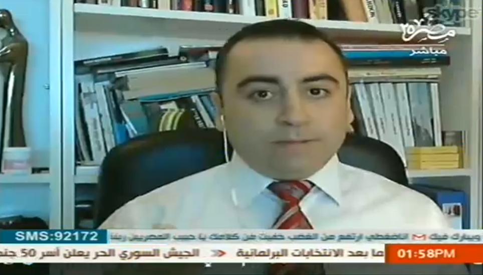 بسام بغدادي صحفي وناشط حقوقي