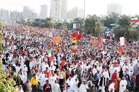 مسيرة كرامة وطن الكويت المعارضة الكويتية