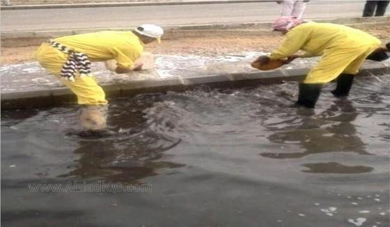 امطار الكويت مطر الشوارع تغرق