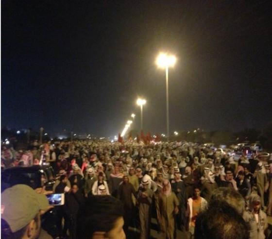مسيرة سجناء المعارضة