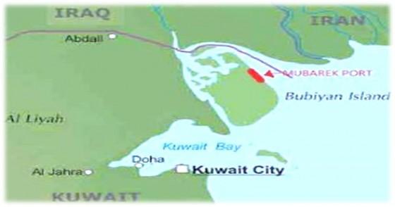 ميناء مبارك الكويتي