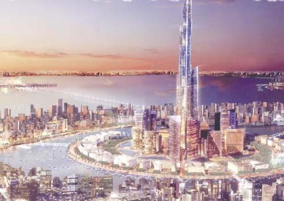 برج مبارك بوبيان مدينة الحرير