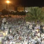 فيديو+صور: تغطية شاملة لـ(مسيرة الحرية 1) في يوم الحكم بسجن مسلم البراك 15-4-2013
