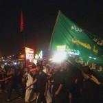 """فيديو+صور: مسيرة """"الرميثية"""" بمشاركة المهري إحتجاجاً على إزالة أكشاك حسينية و(هتافات: هيهات منا الذلة) 15-11-2013"""