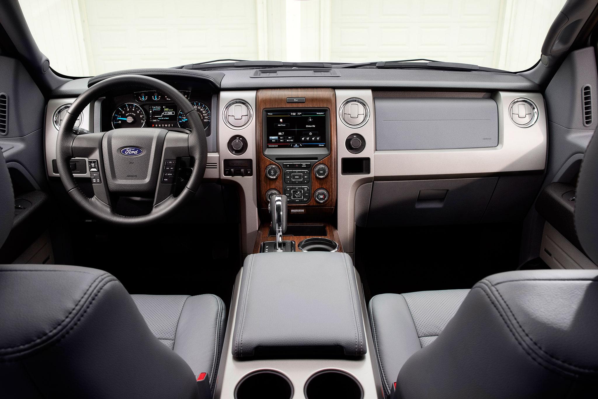 2014 Ford F 150 Lariat Dash