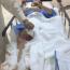 """فيديو: الشاعر أحمد سيار: أحد أفراد القوات الخاصة تعمد إستهدافي و""""نيشن"""" علي في المسيرة وهذا ليس رصاص مطاطي !"""