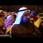 """فيديو: ترحيب المتظاهرين بـ""""اللواء الطراح"""" بـ""""مسيرة الجهراء"""" ووعوده لهم بعدم إستخدام القوات الخاصة ضدهم"""