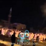 فيديو: هجوم القوات الخاصة على (مسيرة كرامة وطن 8) بعد لحظات من إنطلاقها قرب المسجد الكبير 6-7-2014