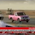 فيديو: سعودي يلتصق بخلاط اسمنت أثناء إستعراضه بسيارته