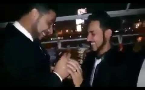 """فيديو: أول حفل زواج علني لـ شواذ """"مثليين"""" في مصر"""