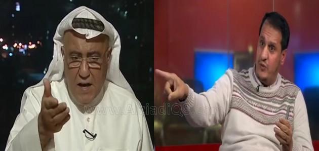 فيديو: مشادة حادة بين نبيل الفضل و محمد والي العنزي حول (نبيل العوضي و سحب الجناسي) عبر BBC