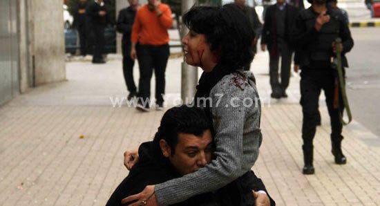 """بالفيديو.. لحظة مقتل الناشطة اليسارية المصرية """"شيماء الصباغ"""" برصاص قوات الأمن"""