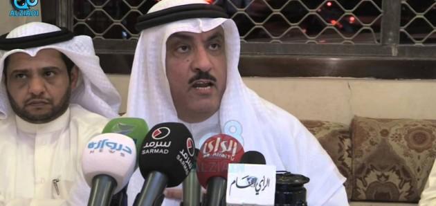 فيديو: كلمة «مسلم البراك» من ديوانه بعد خروجه من السجن في قضية خطاب لن نسمح لك 20-4-2015