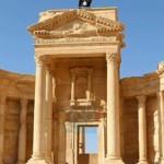 فيديو: (MBC) داعش ينشر صور جديدة لعملية تفجير معبد بعل شمين