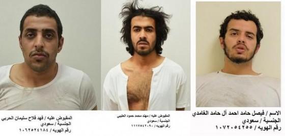 وزارة الداخلية السعودية تصطاد خلية إرهابية تابعة لـ(داعش) من 5 أشخاص في 4 مواقع