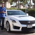 فيديو: حلقة جديدة من برنامج السيارات Q8Stig مع سيارة كاديلاك CTS-V الجديدة