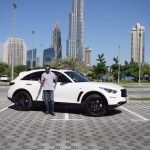 فيديو: حلقة جديدة من برنامج السيارات Q8Stig مع سيارة Infiniti QX70S Elite Sport الجديدة