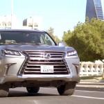 فيديو: حلقة جديدة من برنامج السيارات Q8Stig مع سيارة لكزس Lexus LX570 2016 الجديدة
