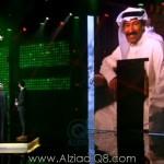 """فيديو: أشادة الفنان """"عبدالكريم عبدالقادر"""" بالفنان """"مطرف المطرف"""" في حفلة «فبراير الكويت 2016»"""