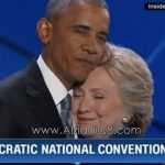 فيديو/ CNN: لحظة عناق هيلاري كلينتون و أوباما تُشعل حماس الجماهير في مؤتمر الحزب الديمقراطي