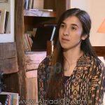 """فيديو: برنامج (نقطة نظام) مع حسن معوض يستضيف """"ناديا مراد"""" إيزيدية نجت من تنظيم داعش عبر قناة العربية"""