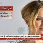 فيديو/ MBC: مجلة فوربز تعلن عن أعلى ممثلات العالم أجراً في 2016