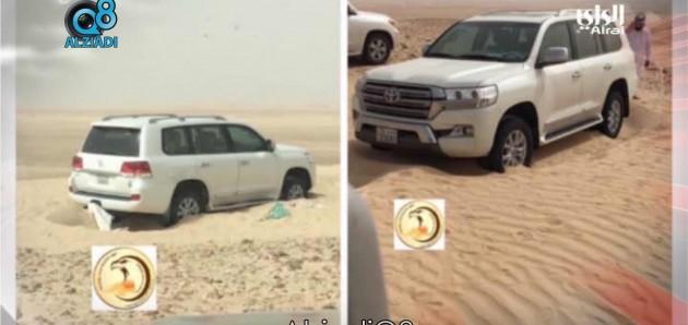فيديو: وفاة مواطن كويتي ثلاثيني (فرج المري) وأبنه عطشاً بعد تعطل سيارته في النعيرية.. وأحد أقاربه يشرح القصة