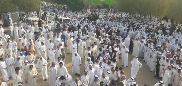فيديو: تشييع جنازة الفنان القدير #عبدالحسين_عبدالرضا من مقبرة الصليبيخات